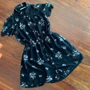 Kimchi Blue Dresses - UO KIMCHI BLUE Western floral shirt dress
